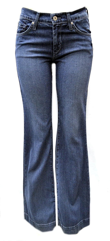 JAMES JEANS HUMPHREY Womens Bodega Soft Denim Flared Leg Jeans Sz 31 100359E