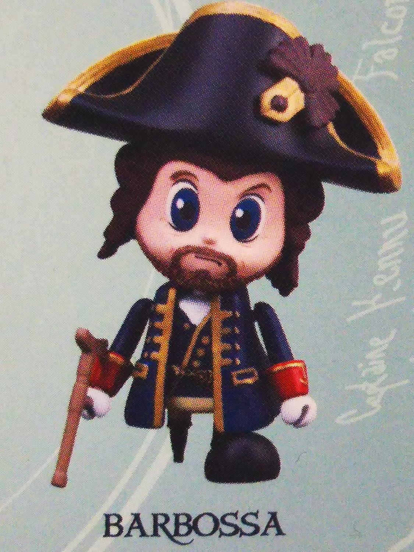 Figura Cosbaby Piratas Del Caribe Barbossa 8 Cms