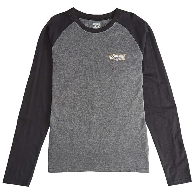 BILLABONG Súper 8 Camiseta de Manga Larga en Negro - Negro, S ...