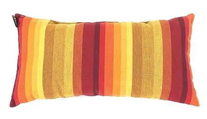 Amazon Com Sunbrella Striped Lumbar Pillow 20x10 Indoor Outdoor