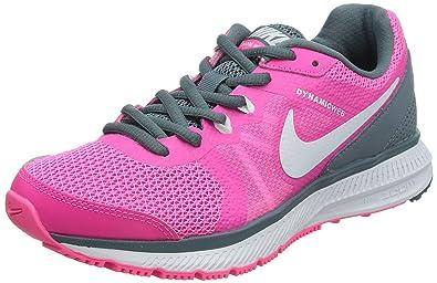 50c90a46ad1c Nike Women s Zoom Winflo Pink Pow White Blue Graphite Running Shoe 8.5  Women US