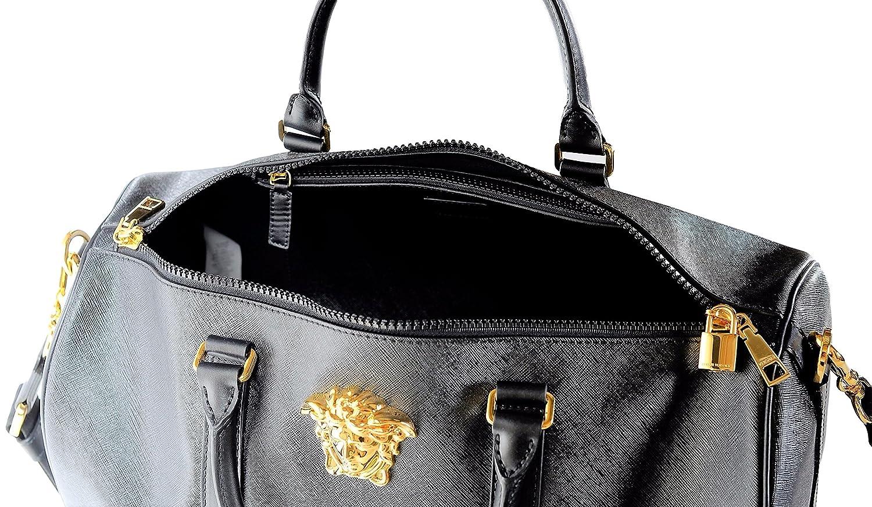 efd243e1d Versace Men's Palazzo Medusa Duffle Bag DV25968 DPVCG DNNOH Black:  Amazon.co.uk: Clothing