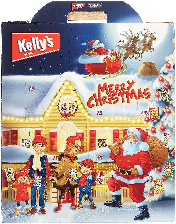 Weihnachtskalender für Männer mit Snacks
