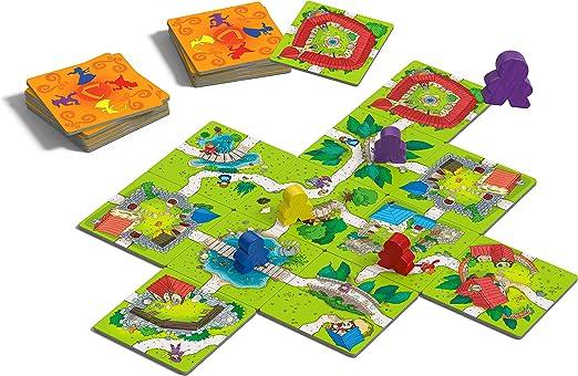 Devir - Carcassonne Junior Juego de Mesa, Multicolor, 27.5 x 6.5 x 19 cm (BGCARJTR): Amazon.es: Juguetes y juegos