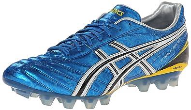 ASICS Men's Lethal Flash DS Soccer Shoe,Pacific Blue/Black/White,8.5