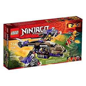 LEGO Ninjago Condrai Copter Attack Toy (Discontinued by manufacturer)