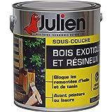 Sous-couche JULIEN pour bois exotiques et résineux - Incolore satiné 2,5L