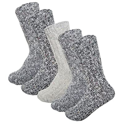 2&4&5Pack Women's Winter Comfort Casual Boot Crew Knit Socks Cotton