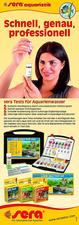 Sera 4410 NO2-Test 2x15 ml - Nitrit Test für ca. 75 Messungen, misst zuverlässig und genau den Nitritgehalt, für Süß- & Meerwasser, im Aquarium oder Teich B00178JA5A