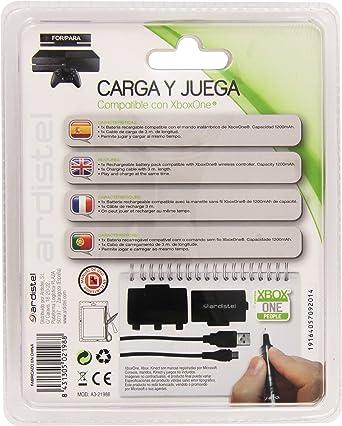 Ardistel - Kit Carga Y Juega (Xbox One): Amazon.es: Videojuegos