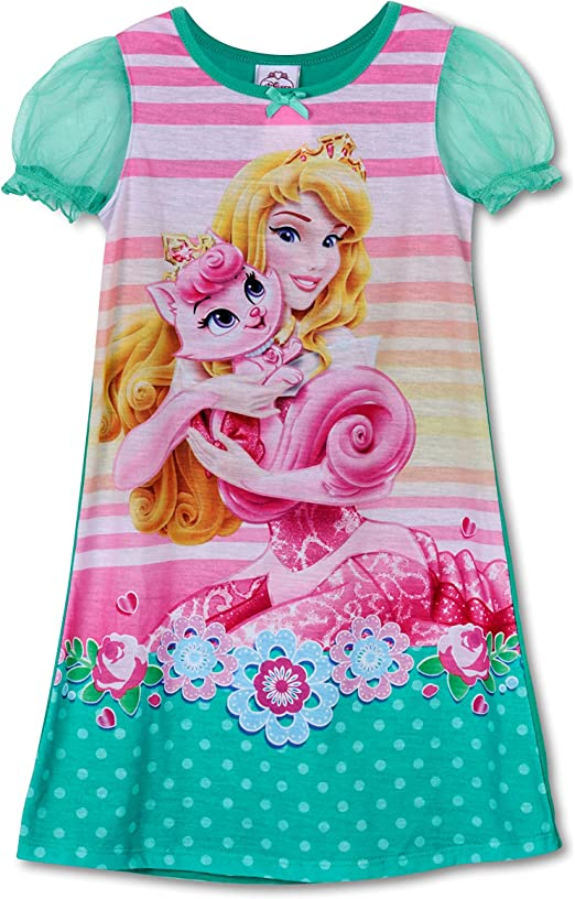 Nightgown sizes 2T-4T Disney Little Girls Princess Palace Pets Toddler Gown