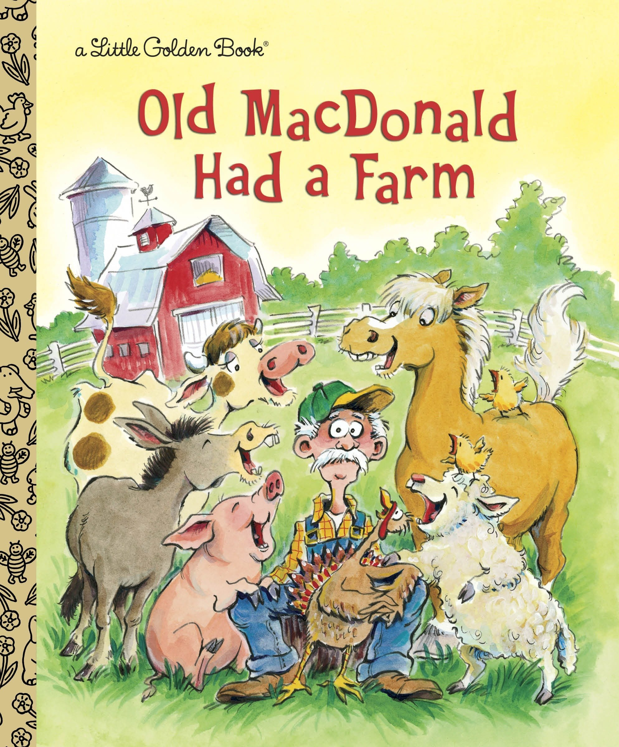 Old Macdonald Had A Farm (Little Golden Books)