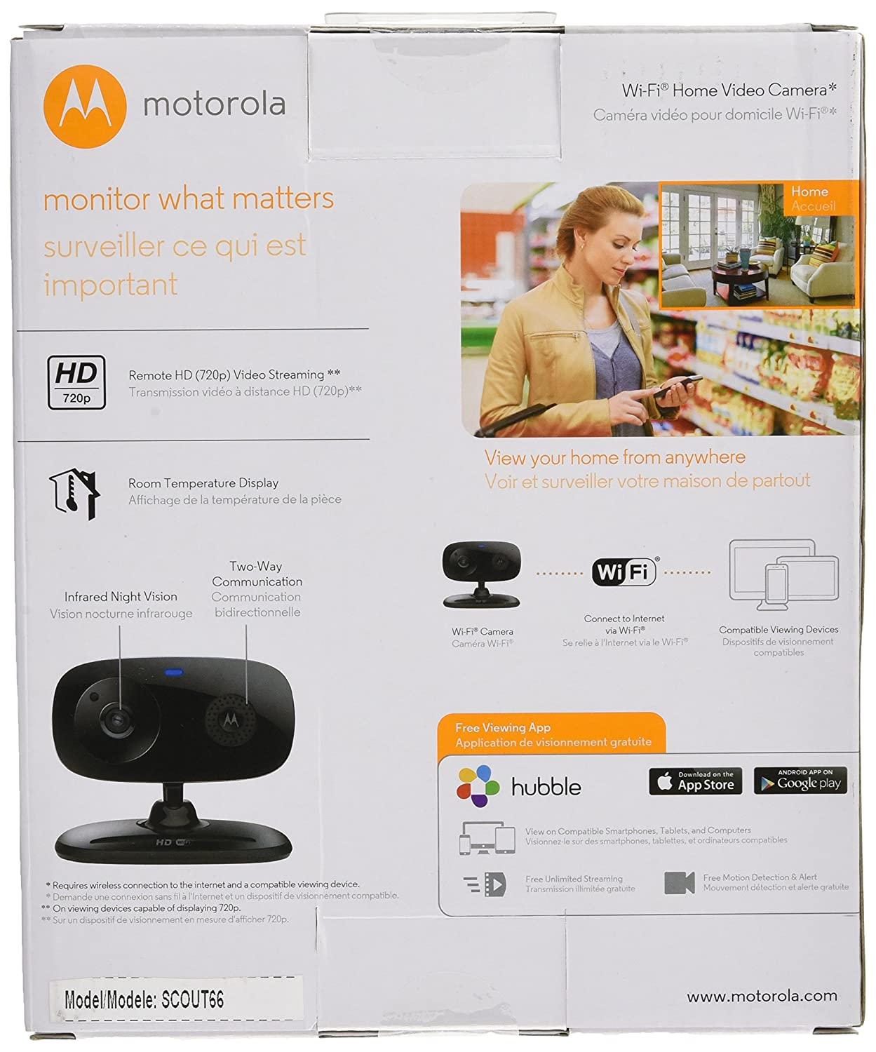 Amazon customer reviews motorola focus66 wi fi hd - Amazon Com Motorola Pet Scout66 Wi Fi Hd Pet Monitoring Camera Pet Supplies