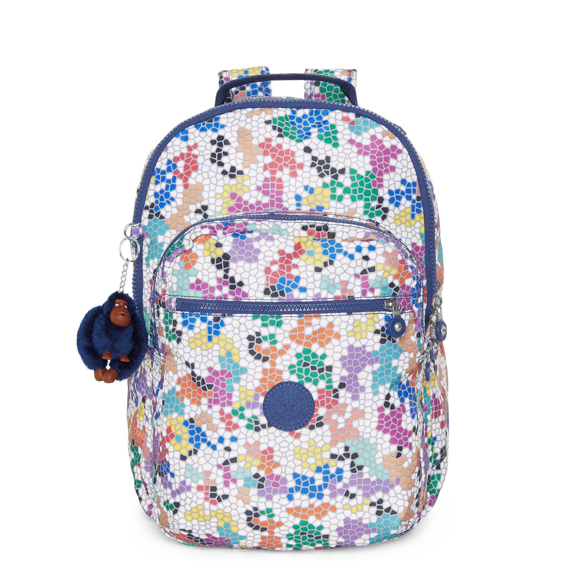 Kipling Women's Seoul Large Printed Laptop Backpack One Size Spellbinder