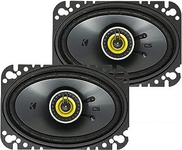 Kicker Csc464 46 4x6 Zoll 10x16cm Oval Koax Lautsprecher Navigation