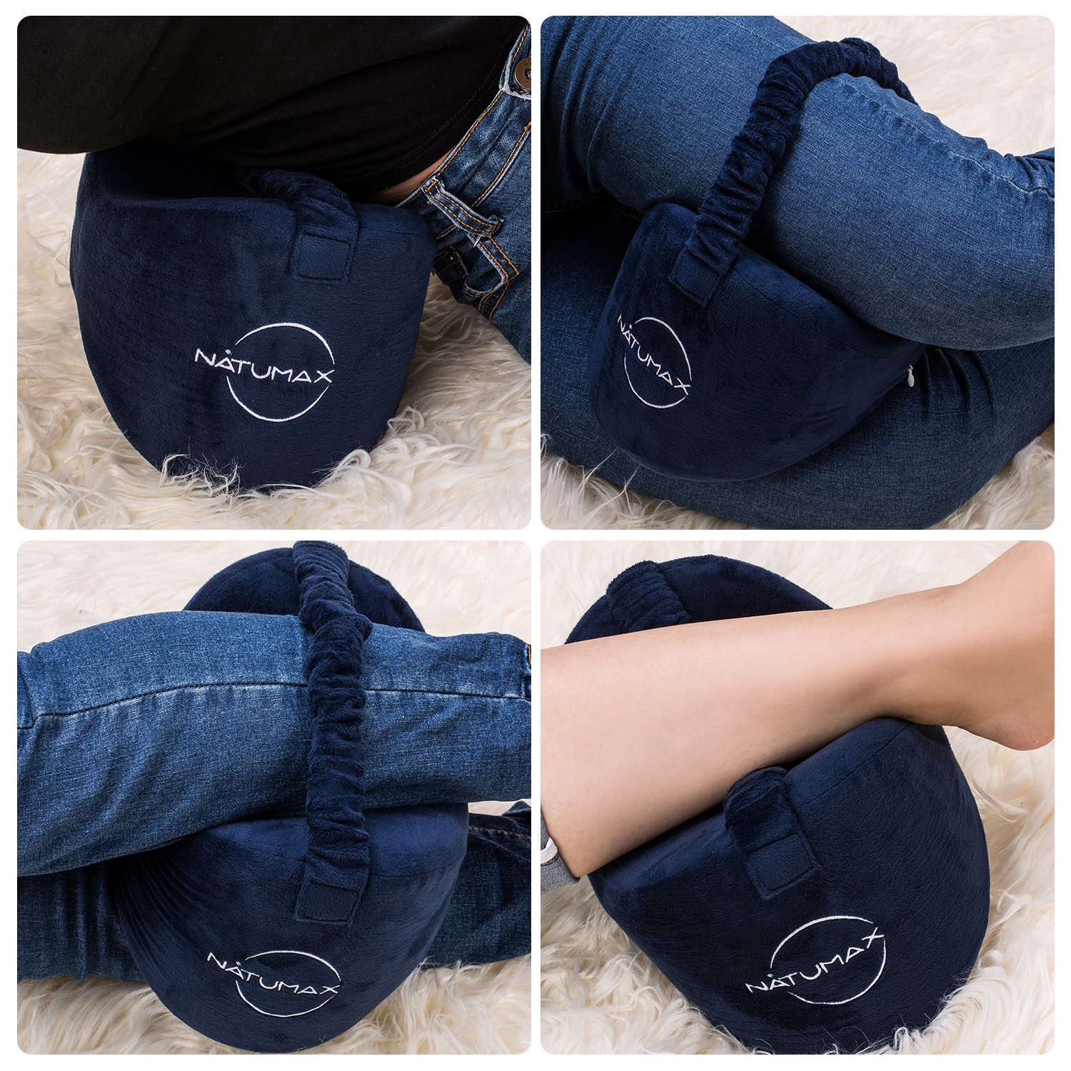 Natumax Knee Pillow For Side Sleepers Sciatica Pain