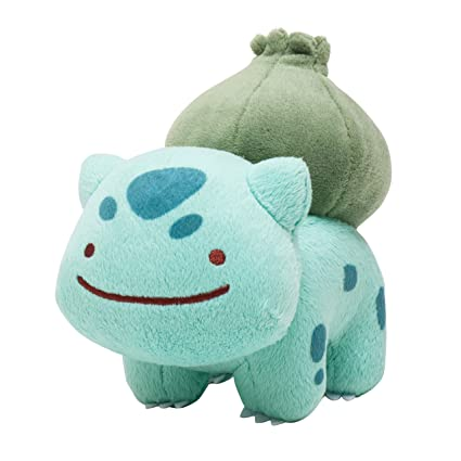 pokemon center original stuffed transform metamon bulbasaur
