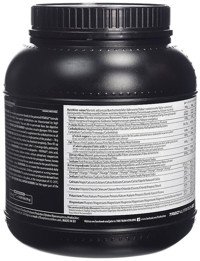 Trec Nutrition Vitargo Elektro-Energy 2,1kg Piña: Amazon.es: Salud y cuidado personal