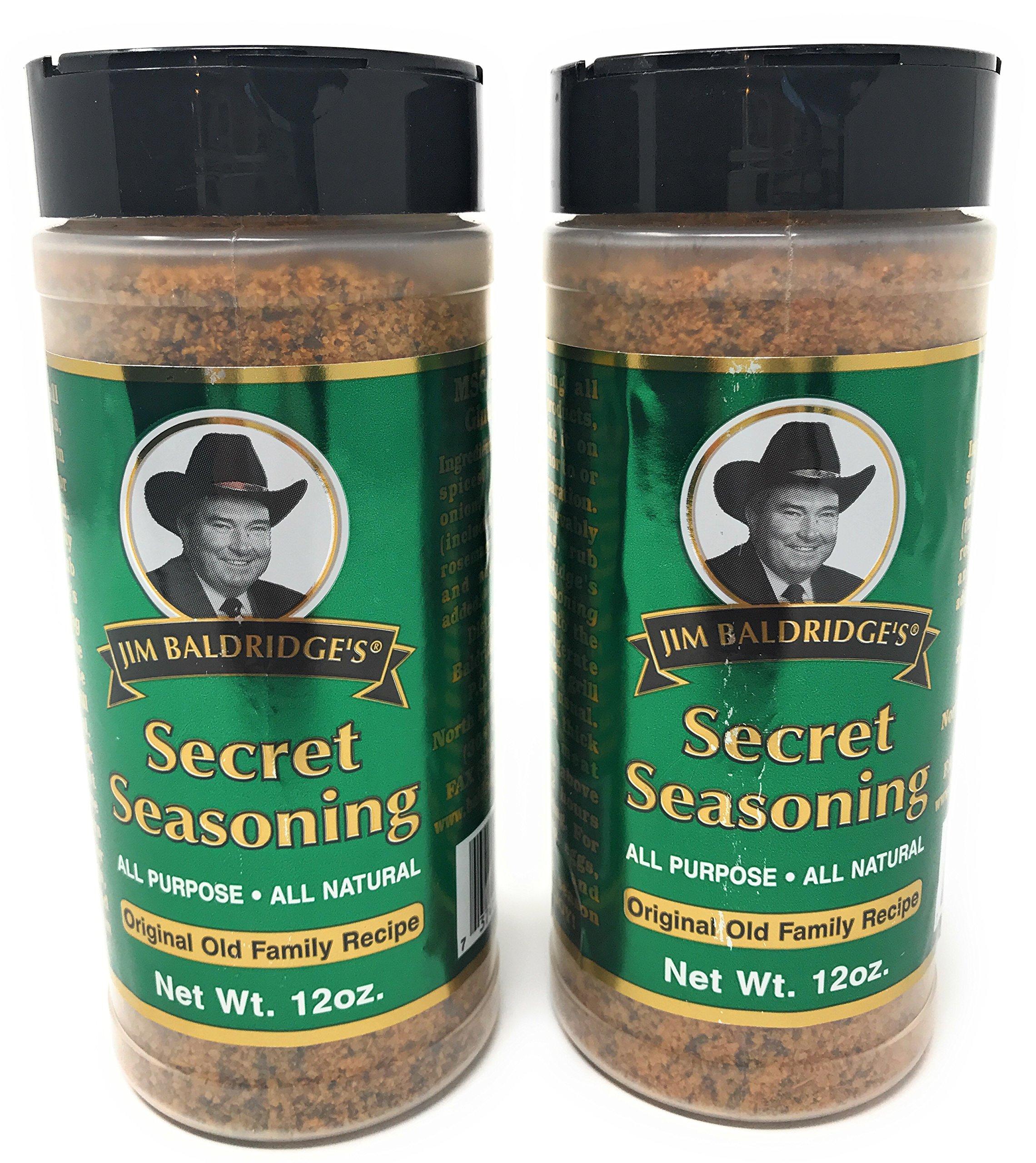 Jim Baldridge's Original Secret Seasoning (12 oz/Pack of 2)