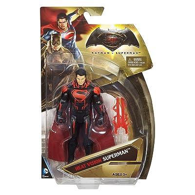 "Batman v Superman: Dawn of Justice Heat Vision Superman 6"" Figure: Toys & Games"