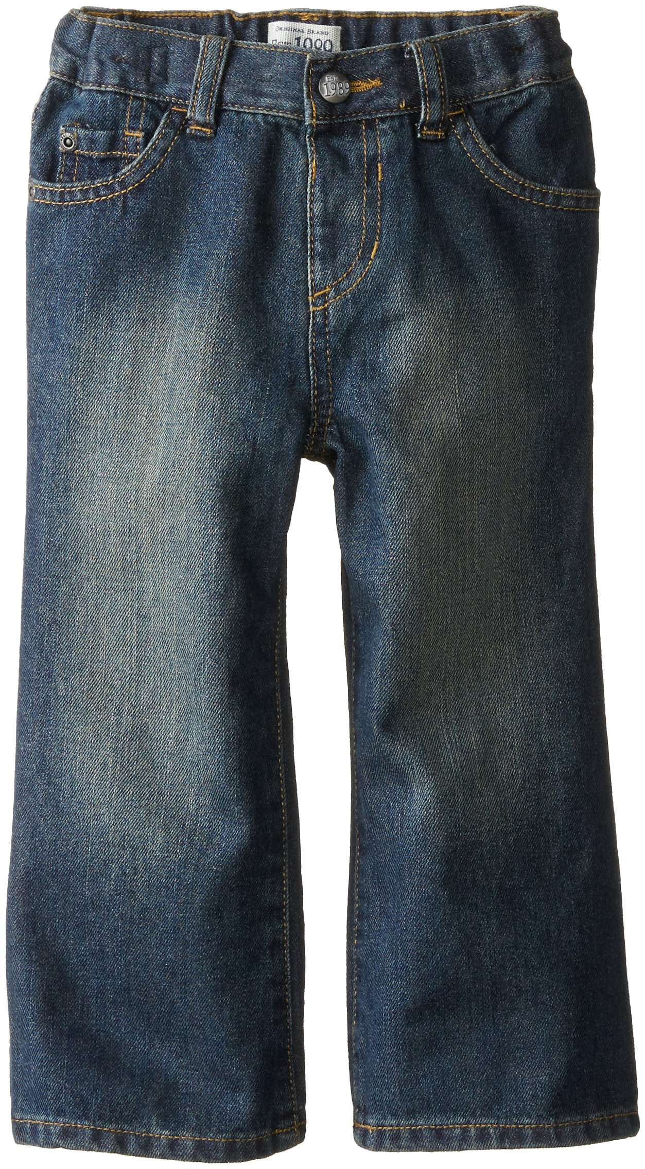 The Children's Place Little Boys and Toddler Bootcut Jean, Dry Indigo, 5T