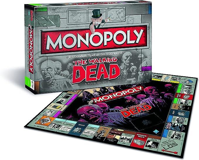 Winning Moves Monopoly The Walking Dead Niños y Adultos Simulación económica - Juego de Tablero (Simulación económica, Niños y Adultos, Niño/niña, 13 año(s), Alemán, Alemán): Amazon.es: Juguetes y juegos