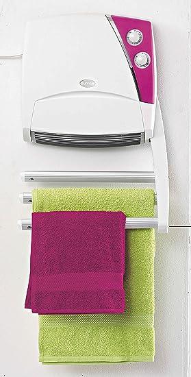 Supra SC4320 - Radiador eléctrico para toallas, 3 barras, 1000 W, color blanco