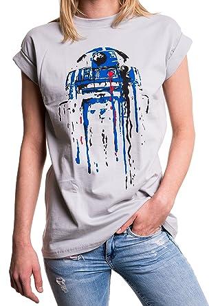 a4489e07419f MAKAYA Oversize T-Shirt mit Aufdruck - Big Bang Star Child - Longshirt  Übergröße sehr weit geschnitten  Amazon.de  Bekleidung