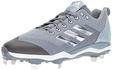 88417ccd09ee adidas Men's Freak X Carbon Mid Baseball Shoe, Onix, Silver Met, Light Grey