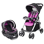 Evenflo Vive Travel System with Embrace, Daphne