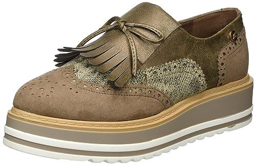 XTI 046708, Mocasines con Plataforma Mujer, Marrón (Taupe), 37 EU: Amazon.es: Zapatos y complementos