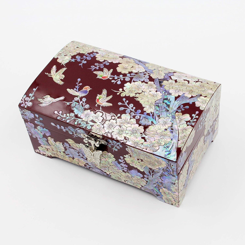 Wooden Box Gift Handmade Jewellery Storage Small