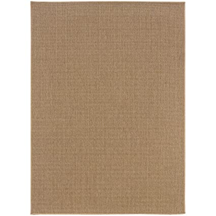 Amazon Com Super Area Rugs Neutral Patio Deck Rug Sand Solid