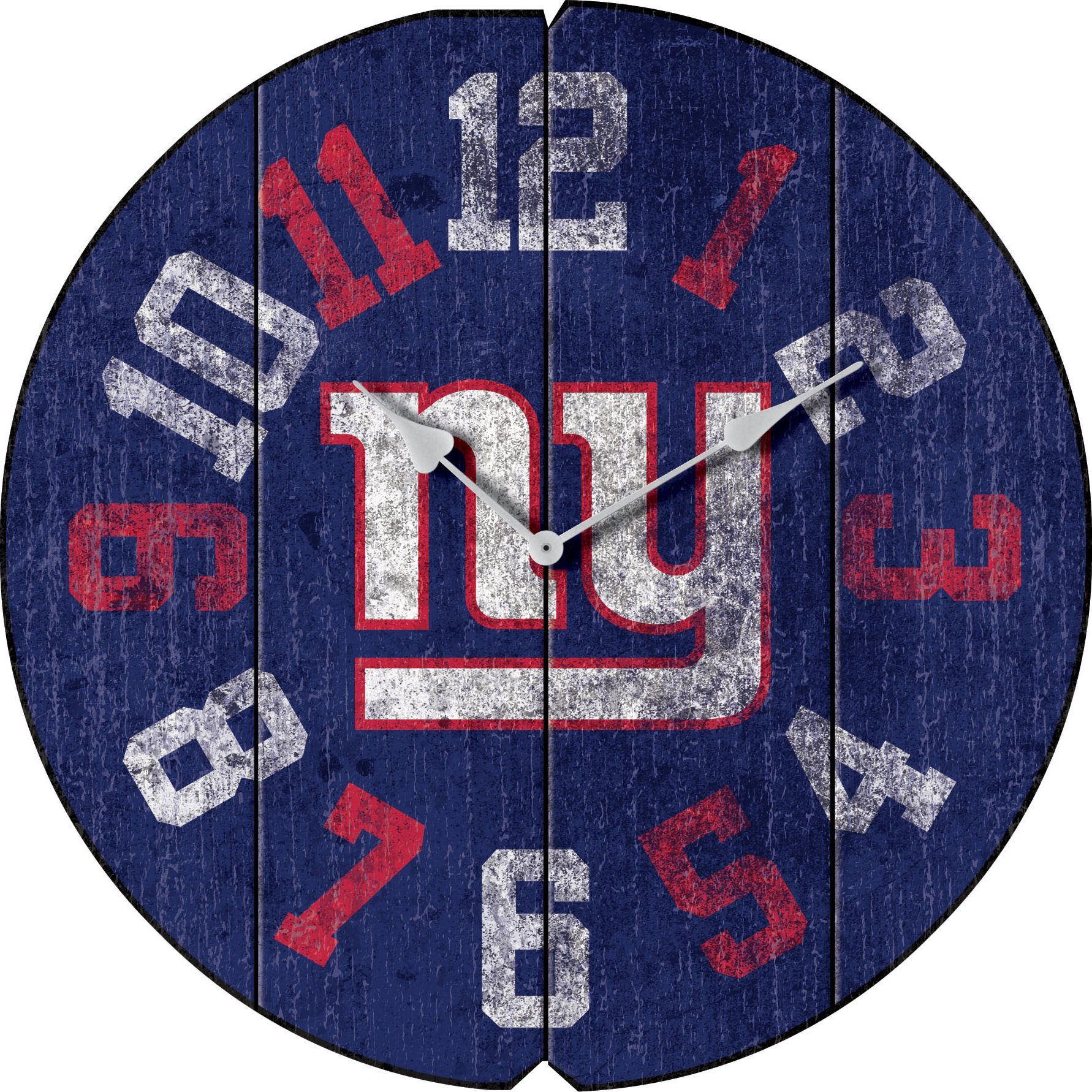 Imperial Officially Licensed NFL Merchandise: Vintage Round Clock, New York Giants by Imperial