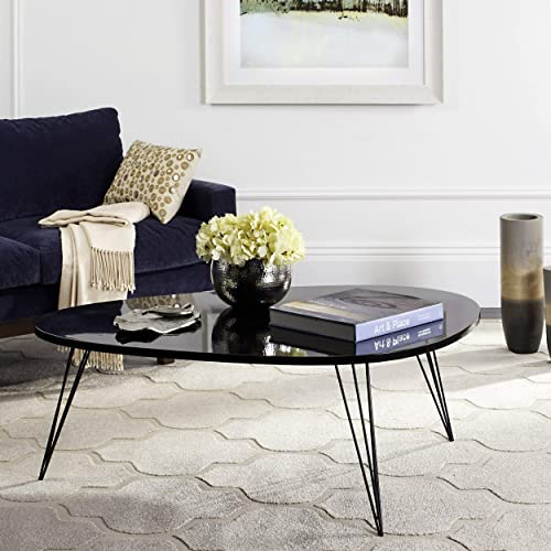 Safavieh Home Collection Wynton Retro Mid-Century Black Console Table