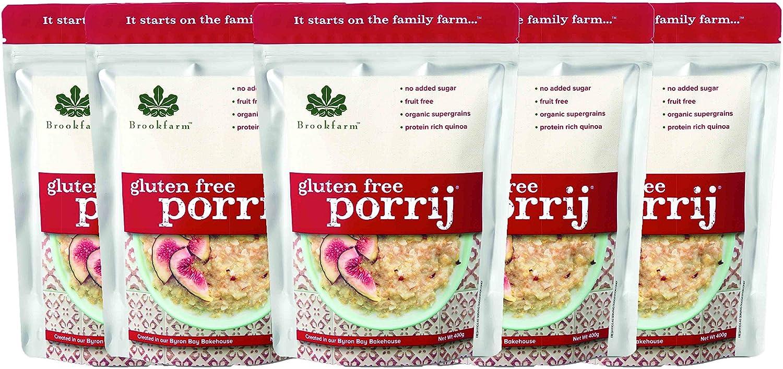 Brookfarm Porrij – Crema de avena sin TACC, sin Gluten, 400 g ...