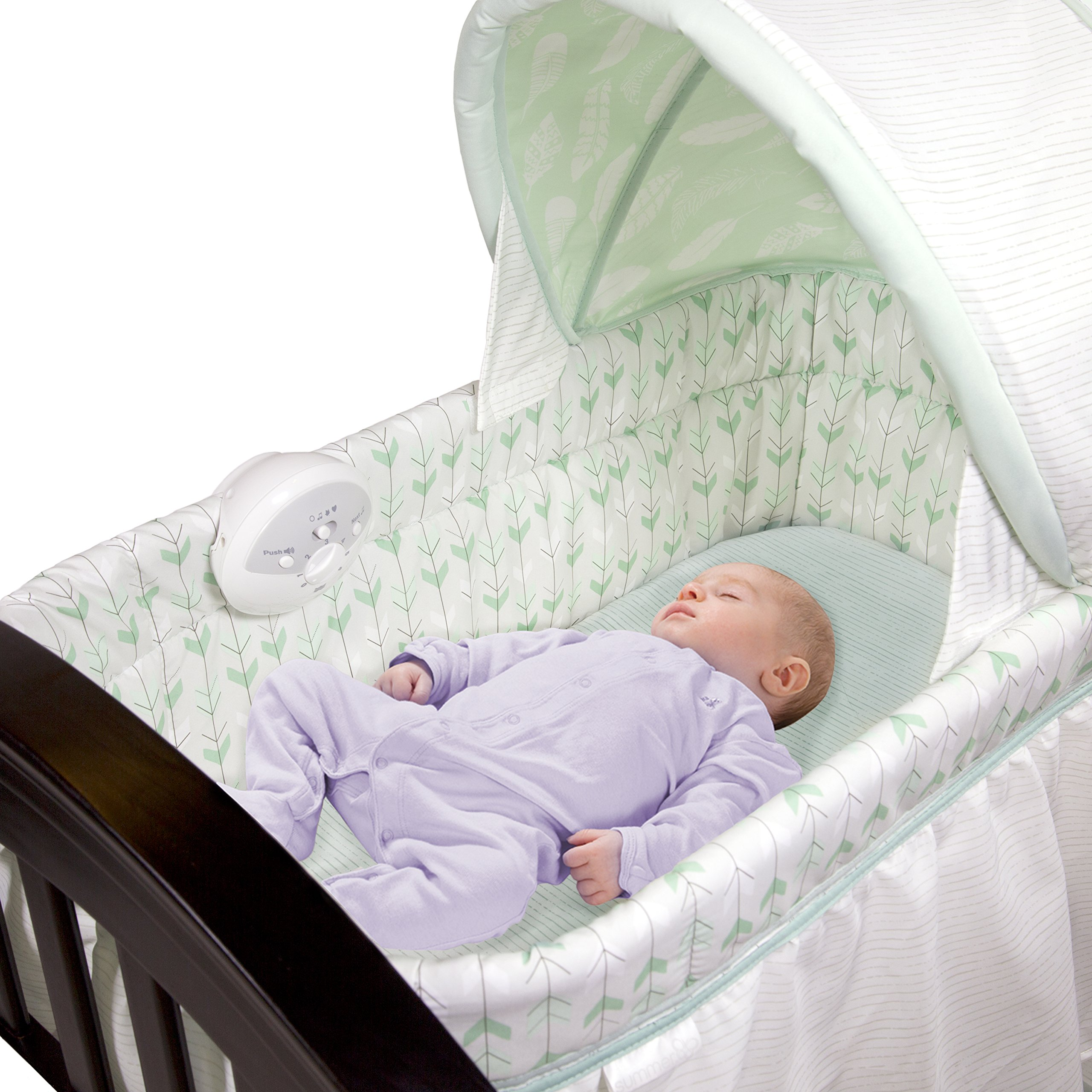 Summer Infant Classic Comfort Wood On Point Bassinet by Summer Infant (Image #2)