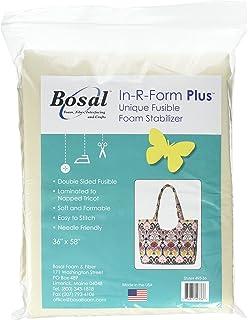 Amazon.com: Bosal 493-18 In-R-Form Double Sided Fusible Foam ...