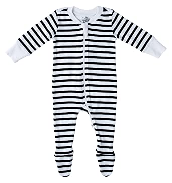 d9554d759189 Amazon.com  Cole + Cleo Organic Baby Pajamas Footed Sleeper GOTS ...