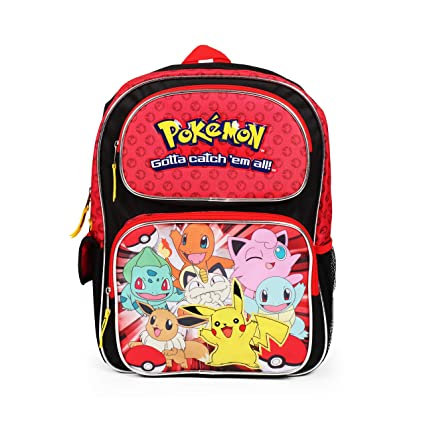 Image Unavailable. Image not available for. Color  FAB Pokemon Backpack Bag  - Not Machine Specific b2615fe3c276b
