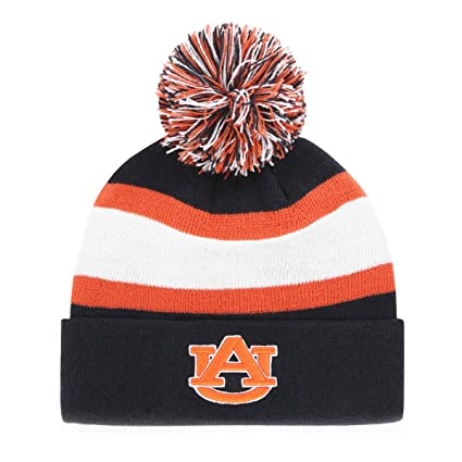 5923c57fade ... discount ncaa auburn tigers adult ncaa rush down ots cuff knit cap with  pom one size