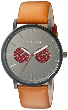 11521772e Image Unavailable. Image not available for. Color  Ted Baker Men s 10024783  Smart Casual Analog Display Japanese Quartz Brown Watch