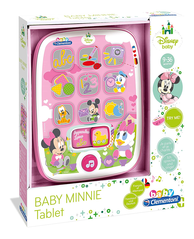 /62949/ Clementoni/ /Meine erste Tablet Baby Minnie