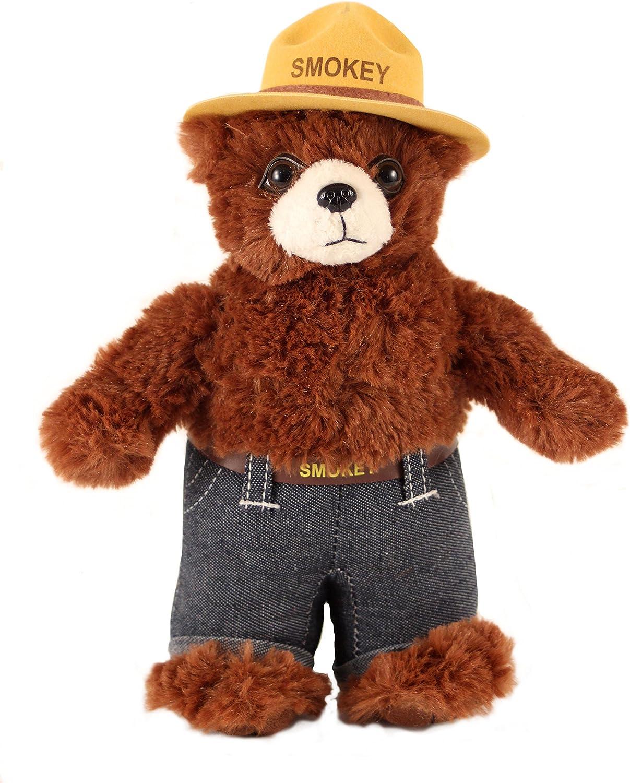 Smokey Bear Education Outdoors Plush Brown, 8 inches