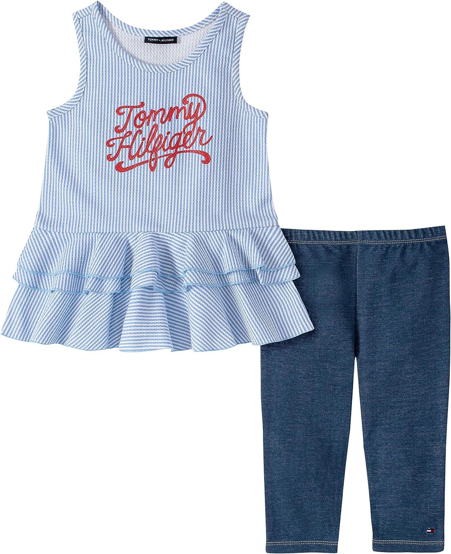 Tommy Hilfiger Girls 2 Pieces Legging Set