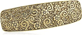 product image for 1928 Jewelry Womens Gold-Tone Floral Hair Barrette Accessory, 3