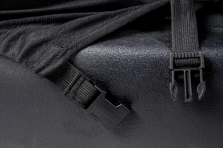 compatibili con sedili con airbag 2012 - in Poi rmg-distribuzione Coprisedili per Clio Versione sedili Posteriori sdoppiabili Colore Nero Rosso R20S0700 IV bracciolo Laterale
