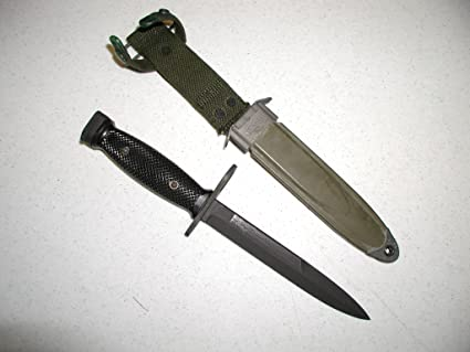 Moore Militaria M7 Bayonet w/ M8A1 Scabbard