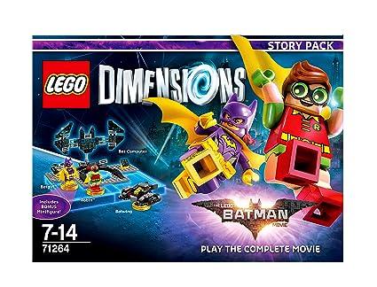 LEGO Batman Dimensions Batman Movie Story Pack: Amazon.co.uk: PC ...