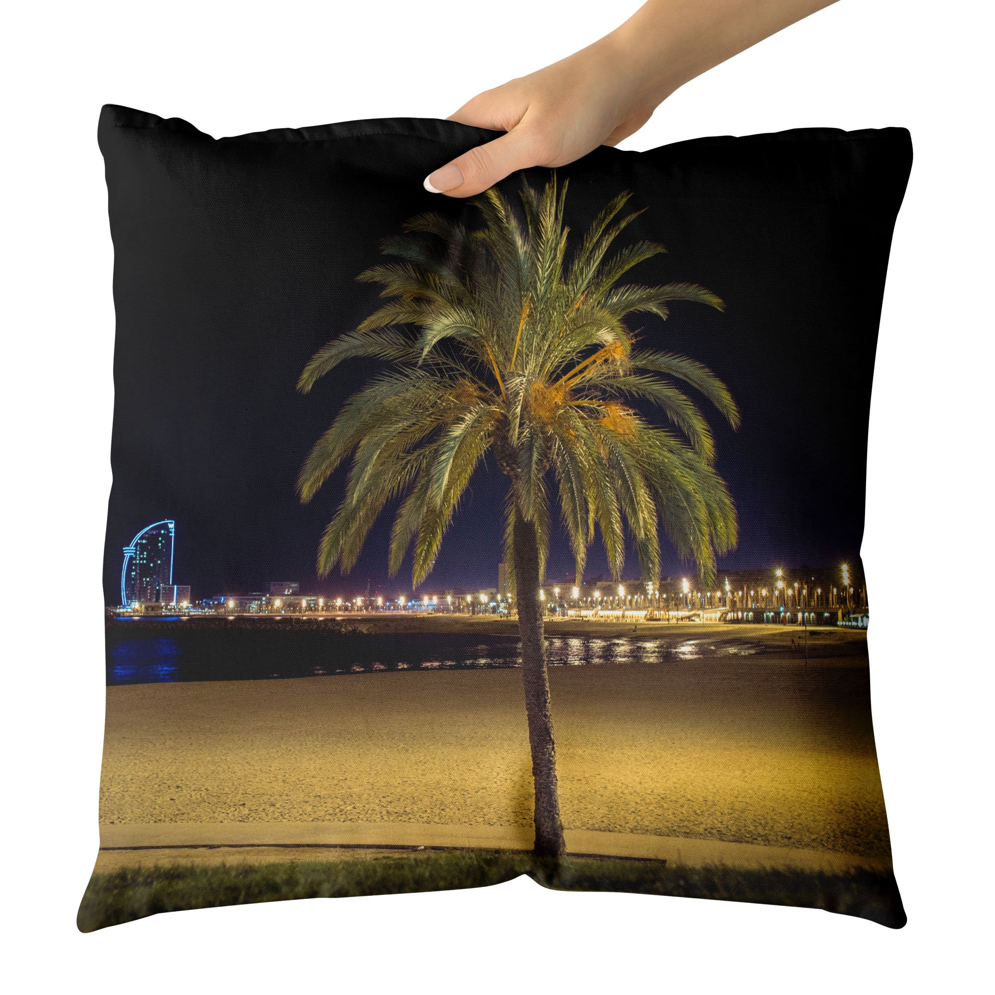 Westlake Art - Tree Hotel - Decorative Throw Pillow Cushion - Picture Photography Artwork Home Decor Living Room - 18x18 Inch (FEB50)